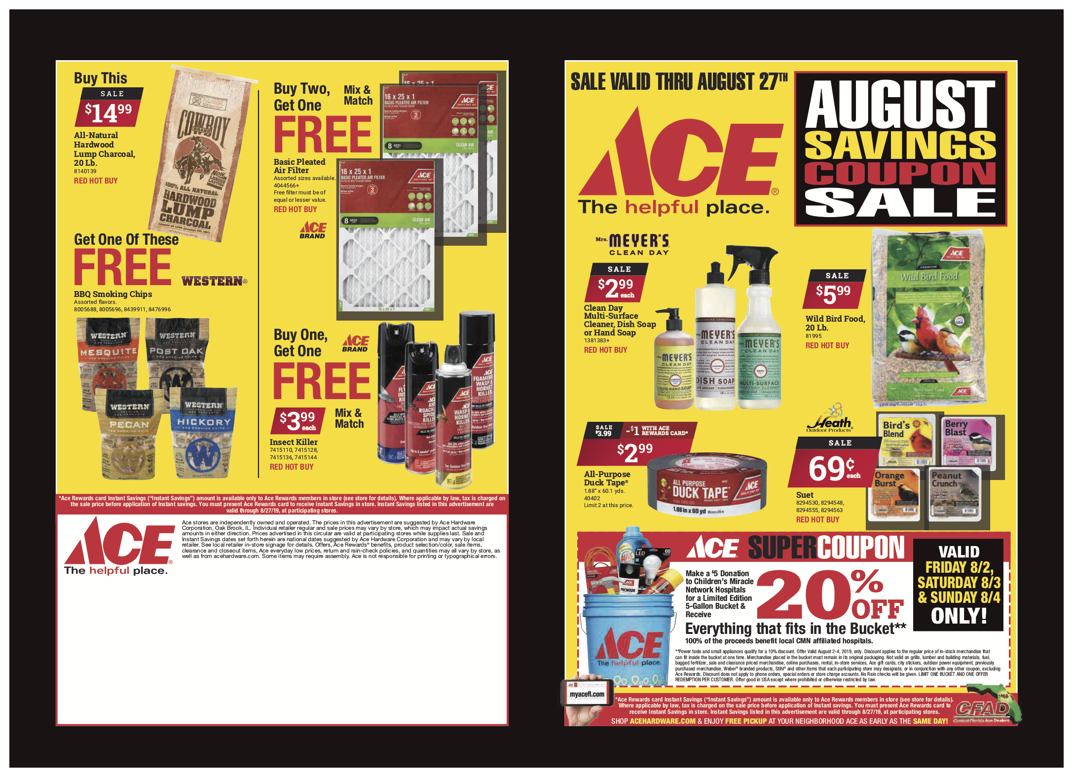 August Savings Coupons!